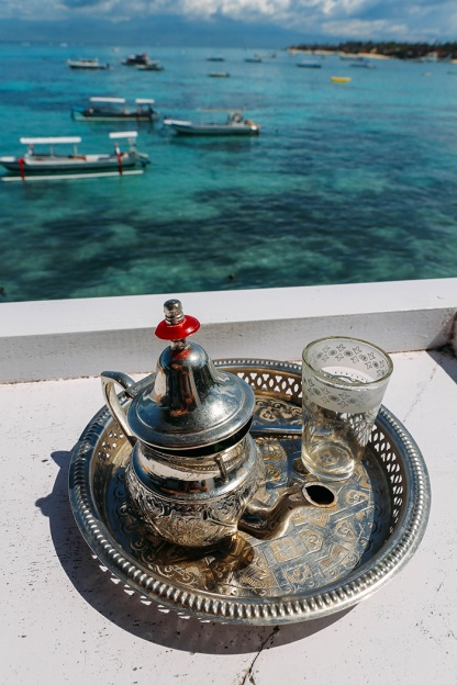 Nusa Lembongan the deck tea_