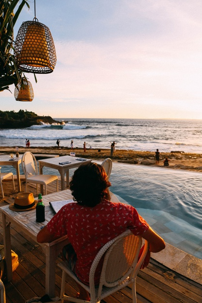 Sunset Beach Nusa Lembongan Sandy Bay Beach Club Phil