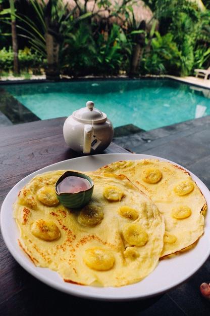 Tigerlilys Nusa Lembongan bali banana pancake