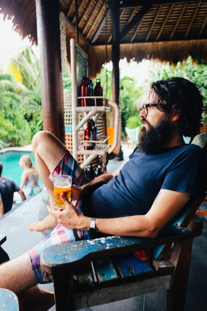 Tigerlilys Nusa Lembongan Phillip beer