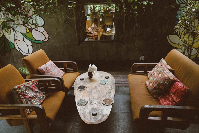 Tigerlilys Nusa Lembongan restaurant area