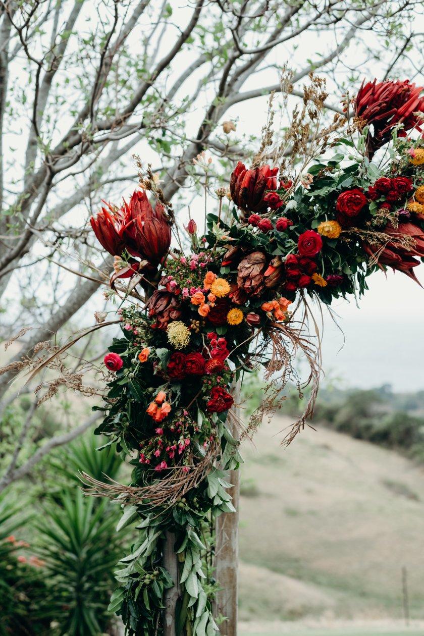Australia best weddings folk + follow kiama Kate and Phil bush bank Jasmine Christie Florist