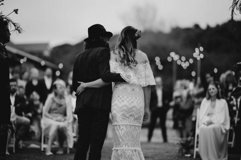 Australia best weddings folk + follow kiama Kate and Phil bush bank