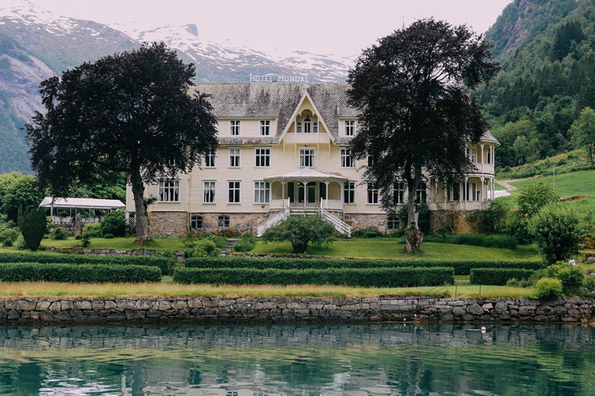 Norway Fjord Fjaerland Scandinavia Book Town Glacier Hotel Mundal