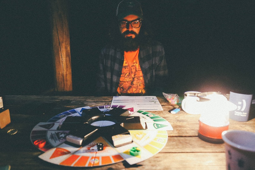 Berowra National Park Camping Sydney Crosslands Reserve boardgames