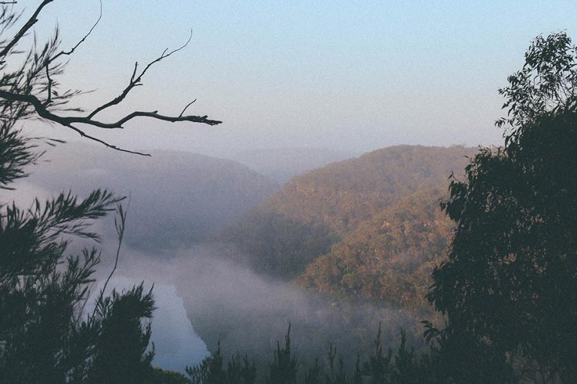 Berowra National Park Camping Sydney Best spots sunrise Barnett's Lookout
