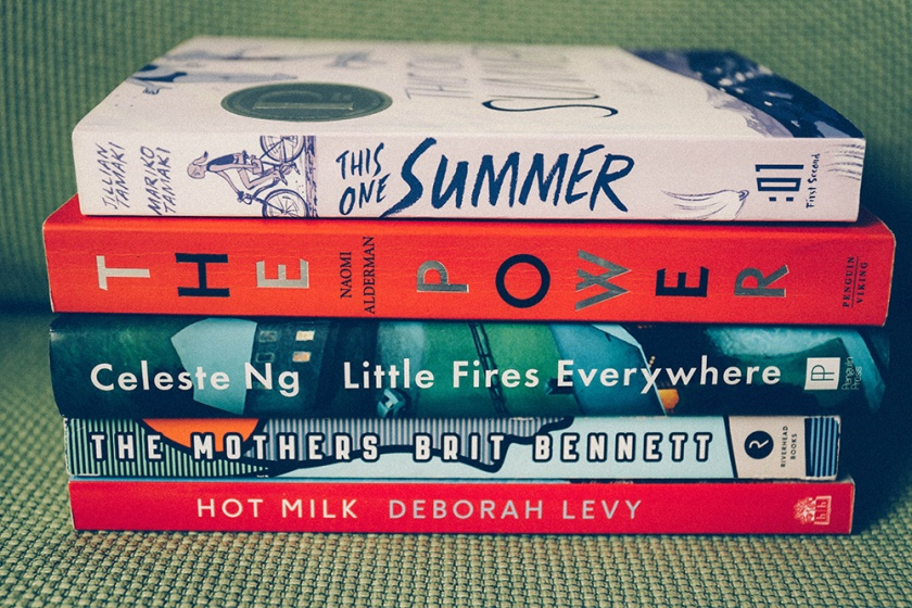 Best Summer Reads by Women stack