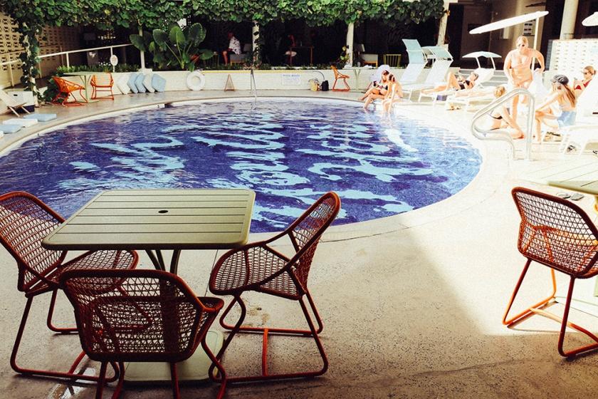 Surfjack Waikiki Best Hotels Hipster Honolulu Hawaii Pool wish you were here
