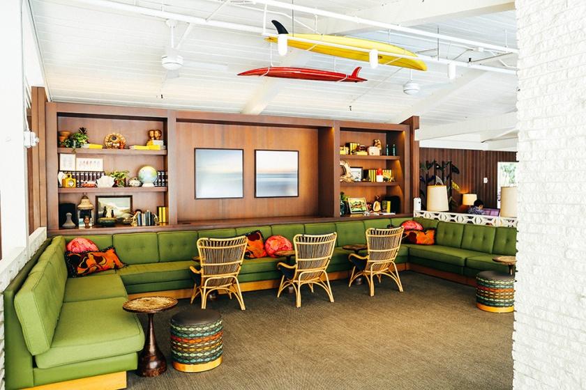 Surfjack Waikiki Honolulu Best Hotels lobby