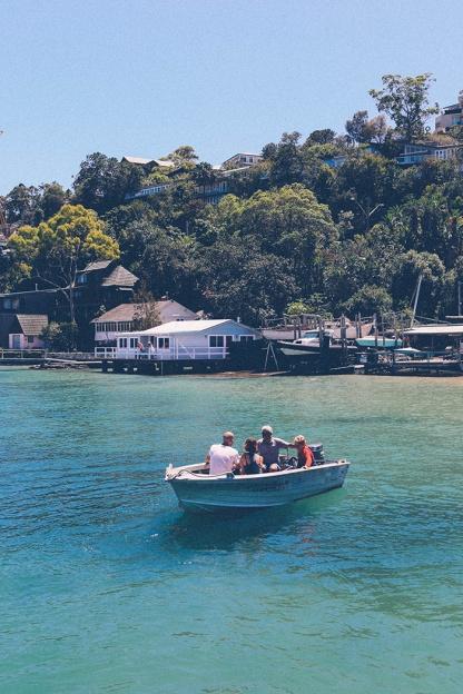 Sydney best ferry trips palm beach ettalong terminal family boat 2