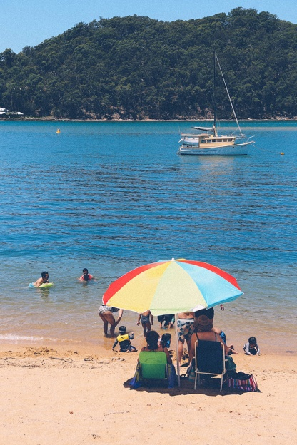 Sydney best ferry trips palm beach ettalong umbrella