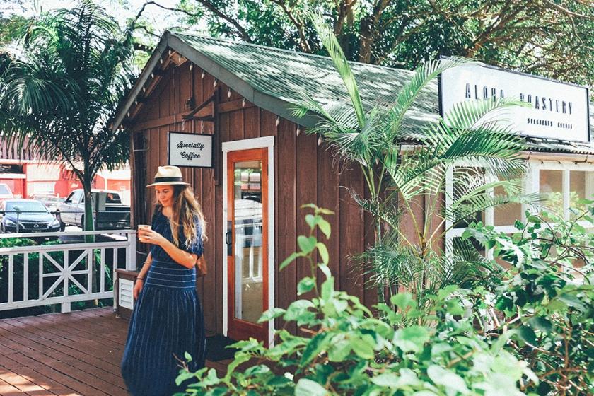 Kauai Hawaii Aloha Roastery Old Koloa Town Best Coffee 4