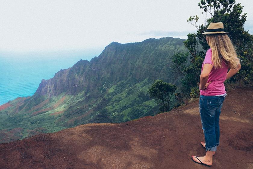 Kauai Hawaii Best Views Kalalau Lookout Koke'e State Park