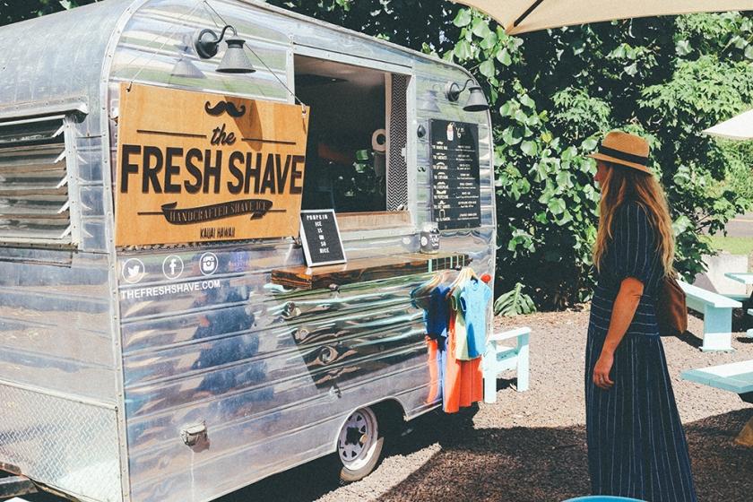 Kauai Hawaii blog fresh shave ice_