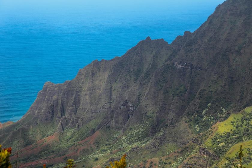 Kauai Hawaii Kalalau Lookout Koke'e State Park 5