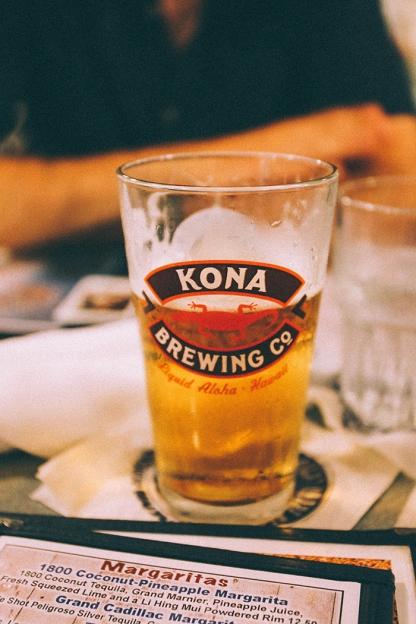 Kauai Hawaii Poipu Beach Brennicks Kona Brewing