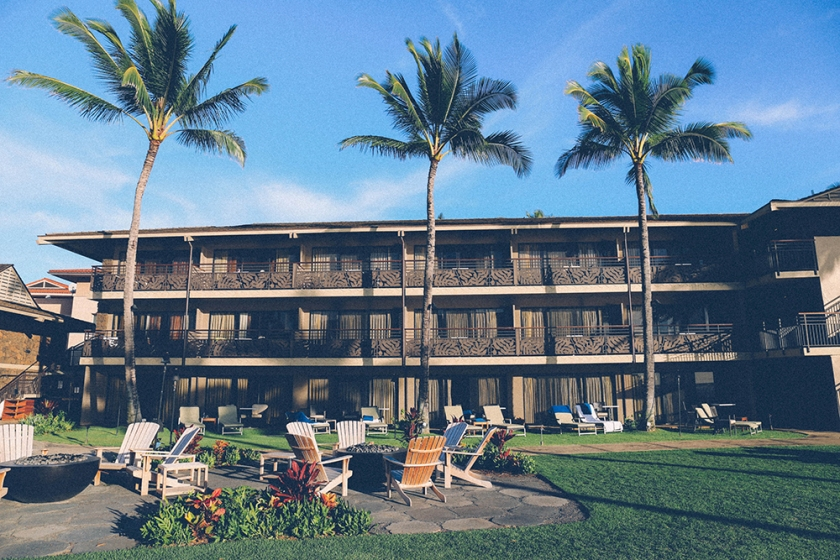 Kauai Hawaii Poipu Beach koa kea building hotels_