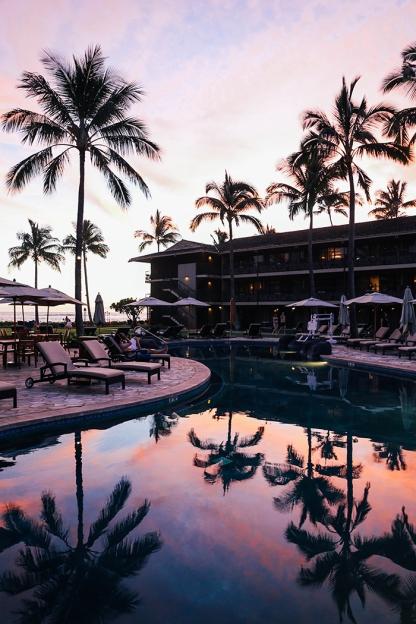 Kauai Hawaii Poipu Beach koa kea epic sunset portrait