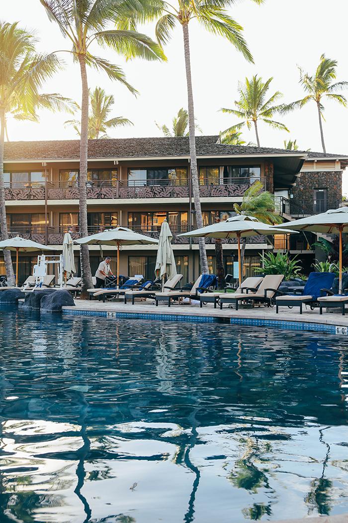 Kauai Hawaii Poipu Beach koa kea swimming pool