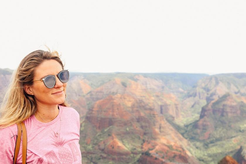 Kauai Hawaii Waimea Canyon best views america Katie