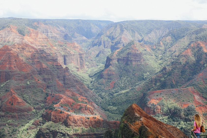 Kauai Hawaii Waimea Canyon best views america_