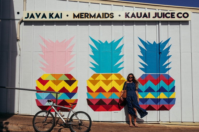 Kauai Java Kai mural cool Hawaii