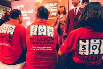 Bangkok thailand airasia half a billion celebration_