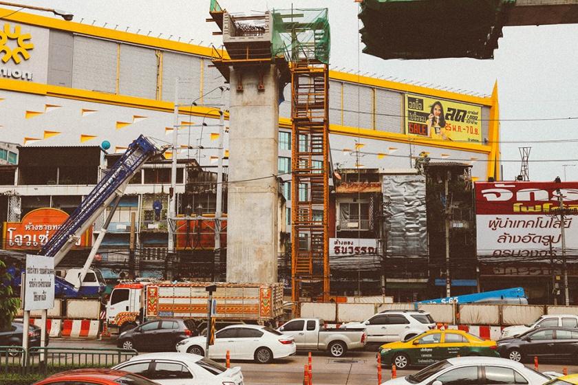 Bangkok thailand construction_