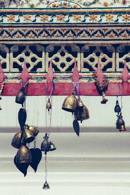 Bangkok wat arun thailand temple bells
