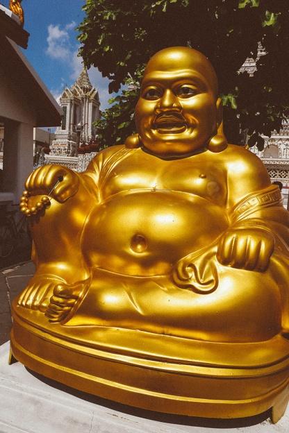 Bangkok wat arun thailand temple fat buddha