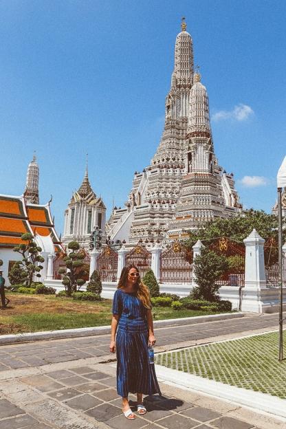 Bangkok wat arun thailand temple katie