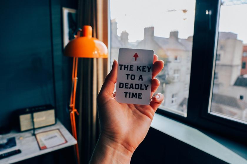 Dublin Ireland The Dean Hotel key to a deadly time
