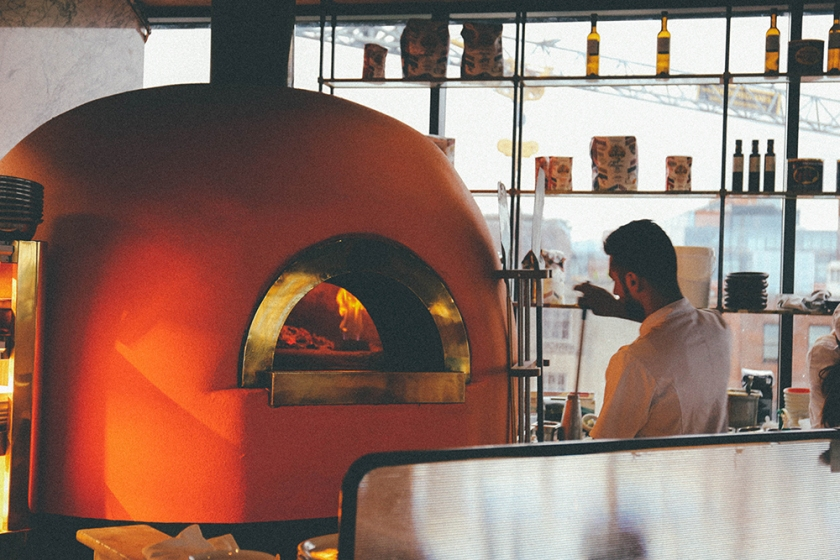 Dublin Ireland The Dean Hotel Sophies pizza oven