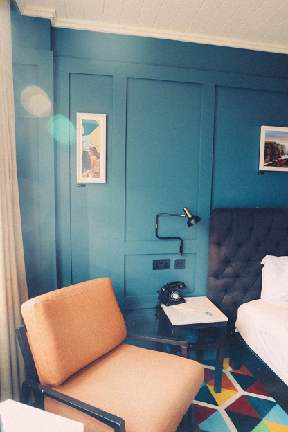 Dublin Ireland The Dean Hotel sunlight_